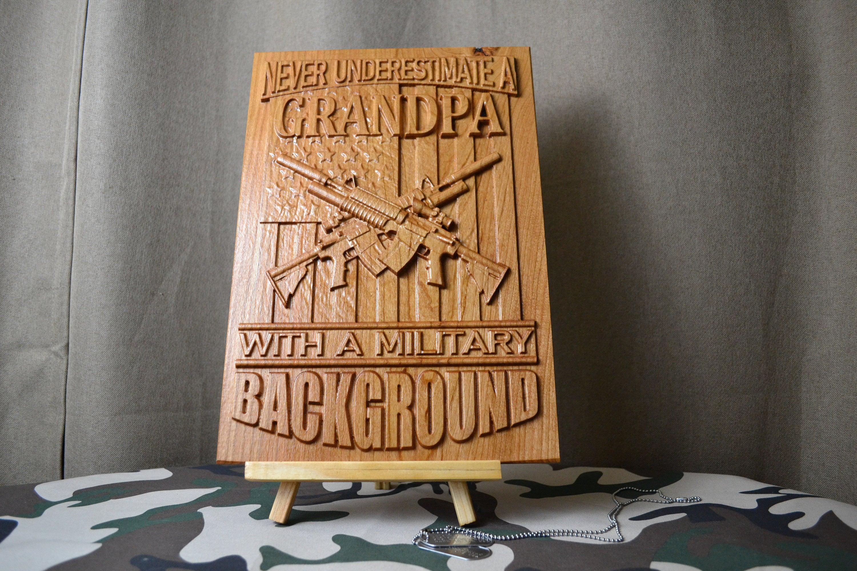 Military Grandpa