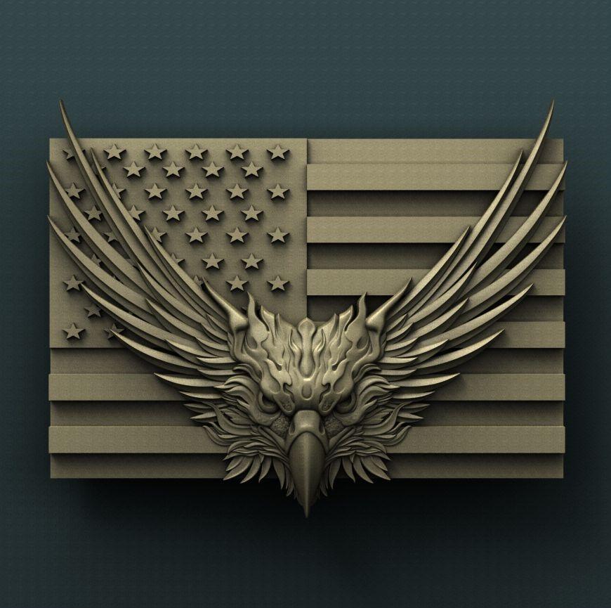 0115. USA Eagle