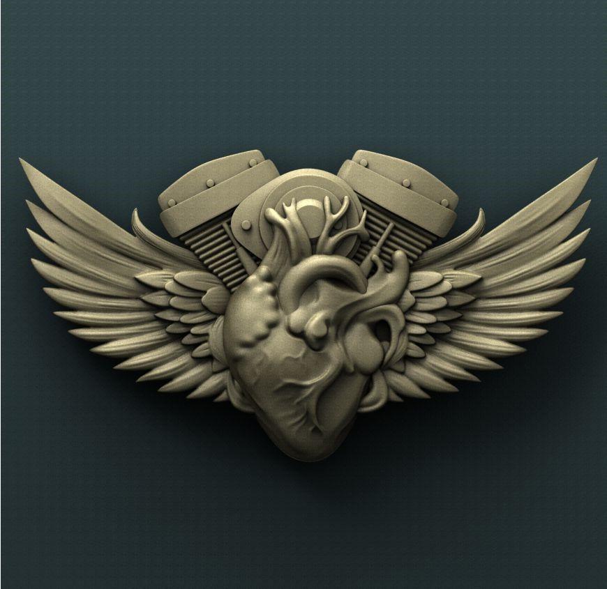 0233. Bikers Heart