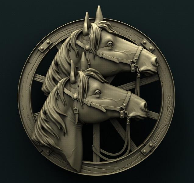 0445. Horses