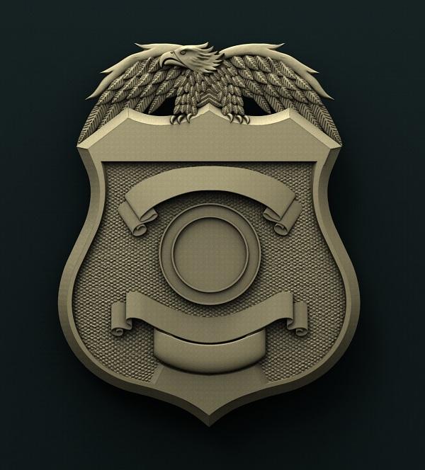 0477. Police badge
