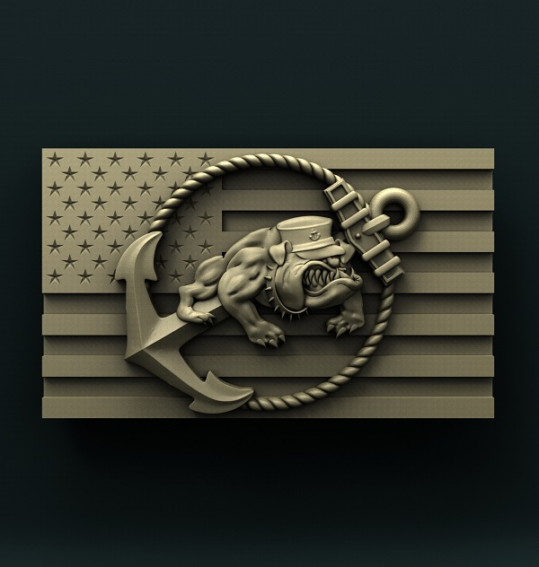 0494. USMC FLAG