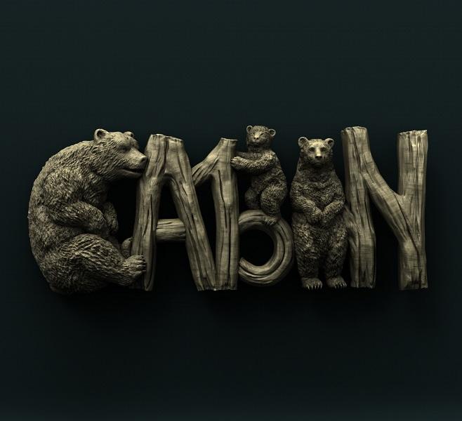 0657. Bears Cabin Sign