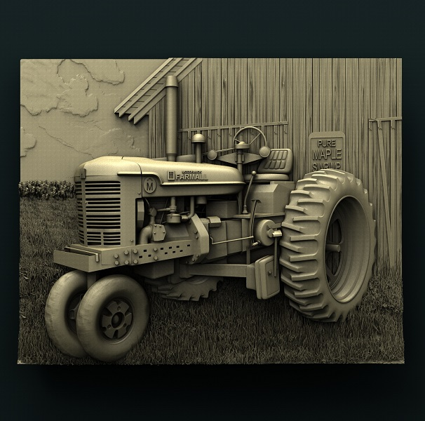 0658. Tractor