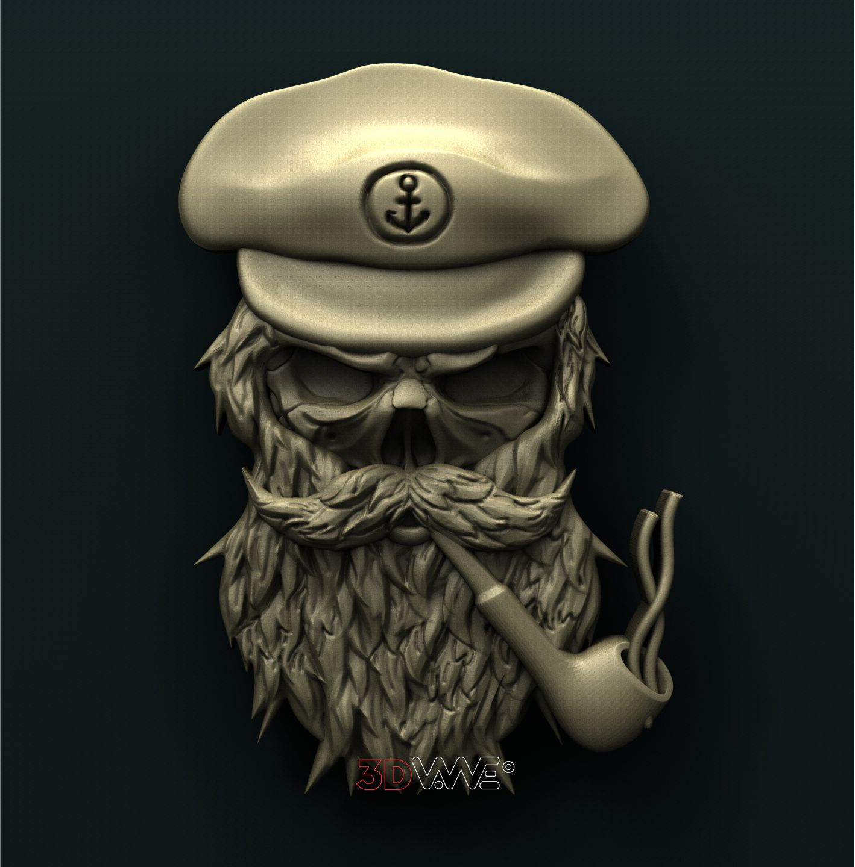 0779 Skull Captain