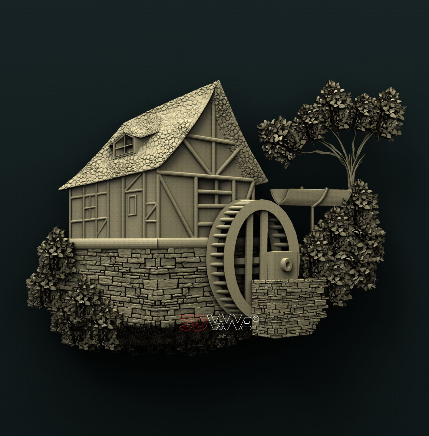 0790 Water Mill