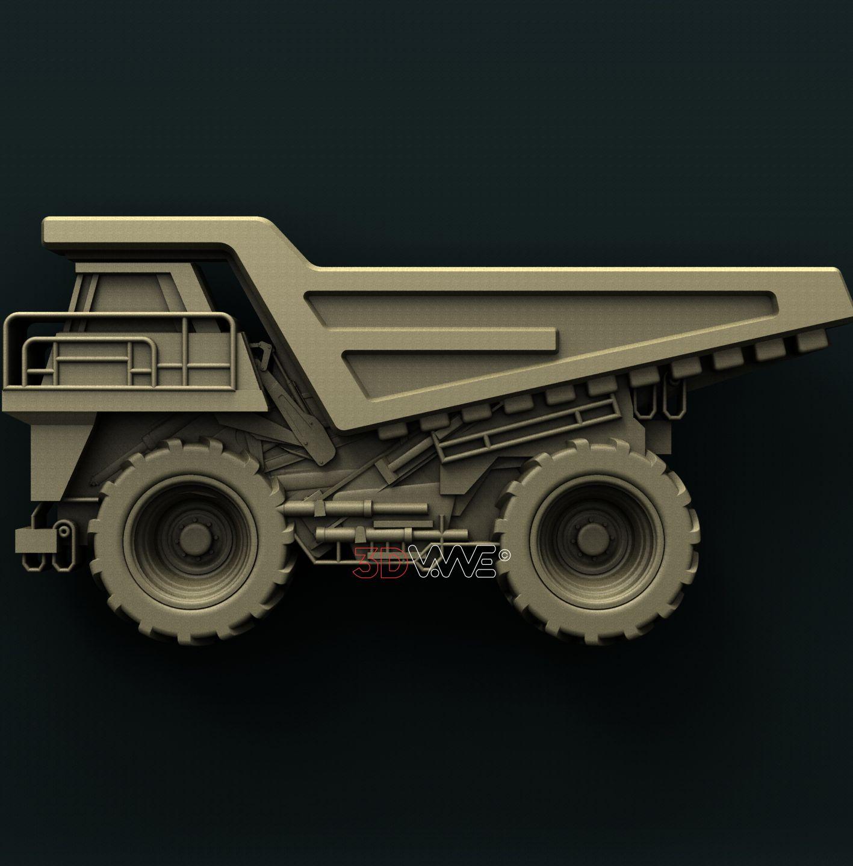 0837  Dump Truck