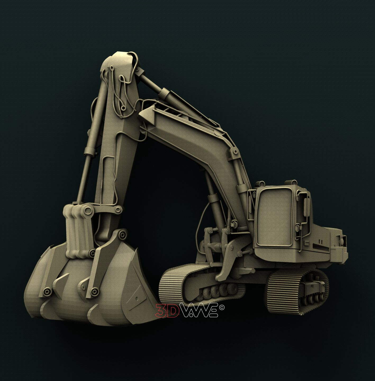 0840 Excavator